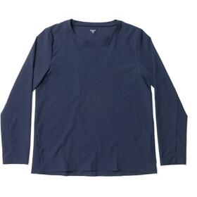 Houdini Cover T-shirt manches longues à col ras-du-cou Femme, blue illusion